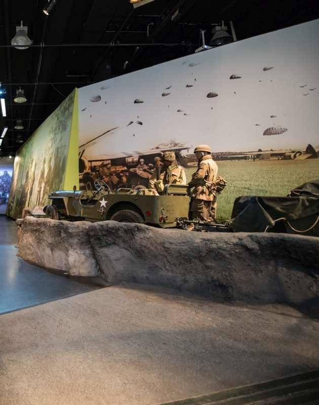 Airborne Museum Tentoonstellingszaal
