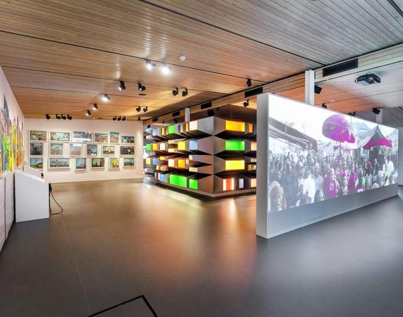 Expositie in het Afrika Museum